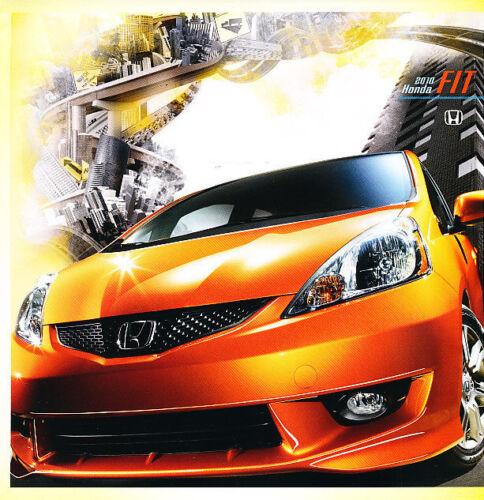 2010 Honda Fit and Fit Sport Dealer Sales Brochure