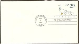 US-SC-U624-Country-Geese-FDC-Ready-For-Cachet