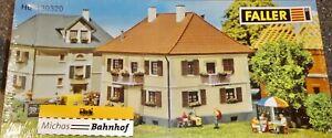 Maison-de-Ville-Rosenstr-2-faller-130320-H0-1-87-Kit-Jamais-Assemble-Ovp-Neuf