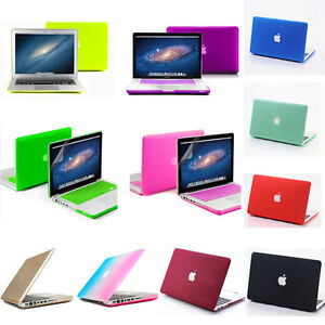 sports shoes ce43c 9f842 Details about Matt Rubberized Hard Case Cover For Apple MacBook Air 11 ''  13 '' inch