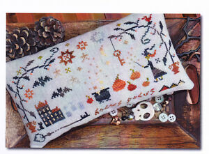 Hocus-Pocus-Halloween-folk-art-style-cross-stitch-chart-Barbara-Ana-Designs