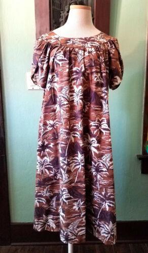 60s Hawaiian Mu Mu