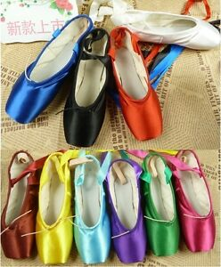 Ballet Toe Shoes In Colors