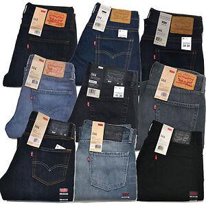 Genuine Levis 505 Jeans Regular Straight Fit Denim Mens W28-42 L29 ... e77b99ad41e9