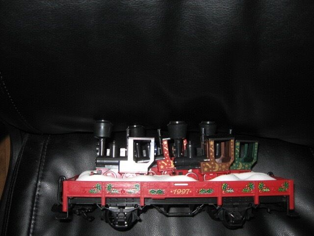 1997 LGB G Scale  42100 Christmas Gondola with Gnomy with Sleeve