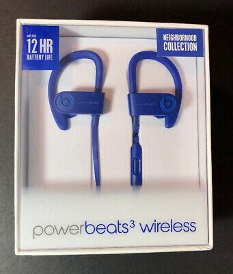 Beats By Dr Dre Powerbeats 3 Wireless Earphone Neighborhood Break Blue New 190198422293 Ebay