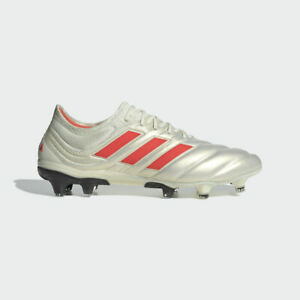 super quality release date official shop Details about Adidas Copa 19.1 Fg Men's Soccer Cleats BB9185 White/Solred  MULTIPLE SIZE 19+