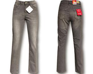 Stooker-Damen-Stretch-Jeans-Hose-Zermatt-SLIM-FIT-Grey-Used