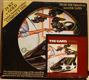 AUDIO FIDELITY GOLD CD AFZ-033: THE CARS - Heartbeat City - 2009 USA OOP NM
