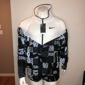 Nike-Running-Jacket-2019-Boston-Marathon-Black-White-CI1555-100-Mens-XL