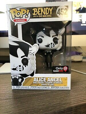 Funko Pop Exclusive Bendy /& The Ink Machine Alice Angel #452 NEW Games
