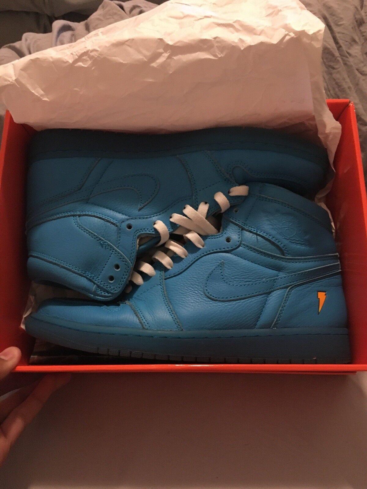 Nike air max fury uomini scarpe da corsa blue di fox / di blue puro platino numero 9 33dab1