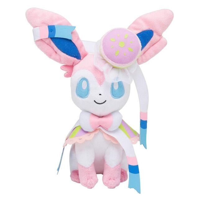 Pokemon Center Original Plush Doll We Are Team Treat Sylveon