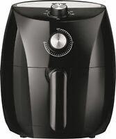 Bella Pro Series 3.5-Qt. Air Fryer (Black With Stainless Steel Accents)