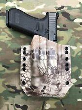 OD Green Kydex Light Bearing Holster for Glock 34 35 Surefire X300 V Vampire