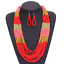 Fashion-Jewelry-Crystal-Choker-Chunky-Statement-Bib-Pendant-Women-Necklace-Chain miniature 113