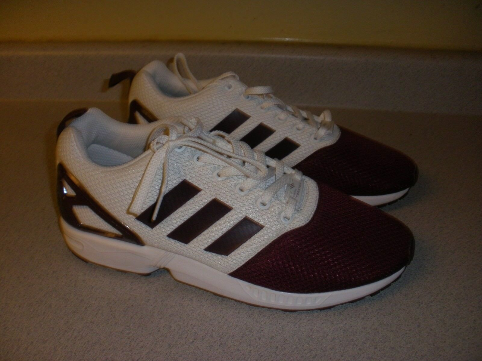 ADIDAS Torision Shoes size 9.5 MAROON WHITE