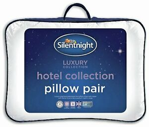 Silentnight Luxury Hotel Collection Pair of Pillows.