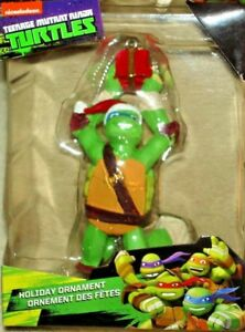 Ninja Turtle Christmas Tree.Details About Teenage Mutant Ninja Turtle Tmnt Leonardo Christmas Tree Holiday Ornament New