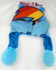 Flipeez My Little Pony Kid s Size Action Hat Beanie Rainbow Dash NWT ... aa5fc5178f9b
