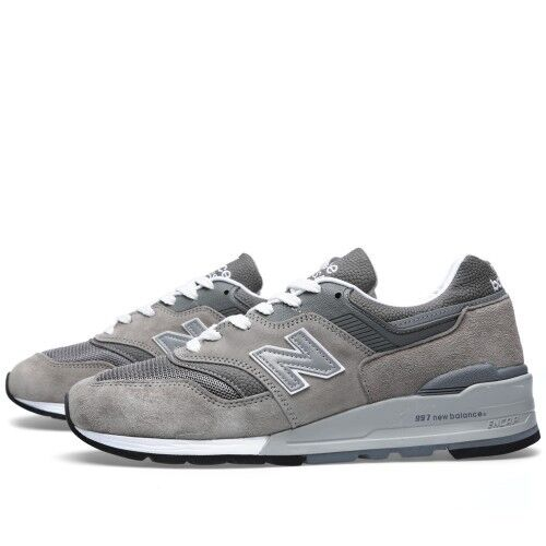 {M997GY} MEN'S NEW BALANCE M997GY - MADE IN THE USA Brand New