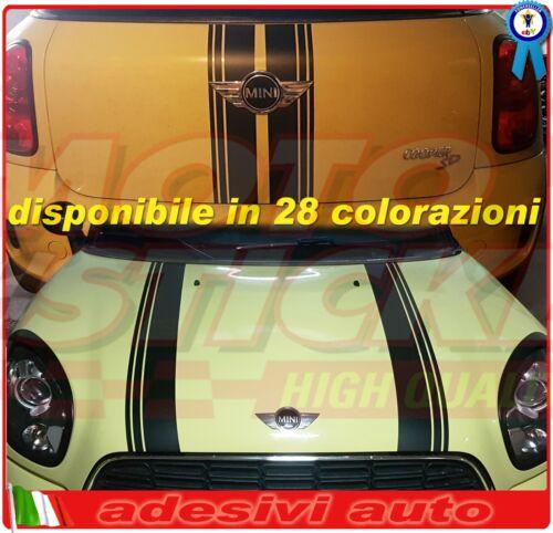 28 colorazioni kit bonnet adesivi cofano portellone Mini Countryman 2010-2016