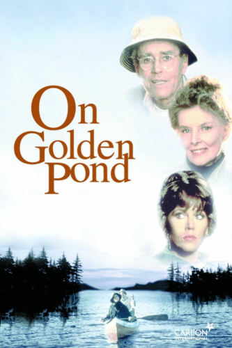 ON GOLDEN POND MOVIE Film Cinema wall Home Posters Print Art #21 A3