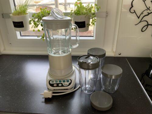 Kitchen Aid Blender Ultra Power Electronic Mixing Sensor Gebraucht TOP Gerät  J59IZ