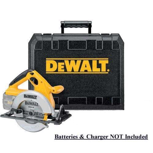 DeWalt DW007 24 Volt 6-1 2  Circular Saw W  Case & Factory WARRANTY