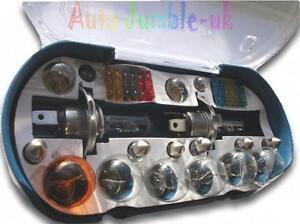 Furgone-Fiat-Ducato-Autobus-12v-H4-H4-Emergenza-Lampadina-di-Ricambio-Fuse-Set