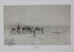 1881-CARAVANE-Ludwig-Hans-Fischer-Hugo-Othmar-Miethke-Beduini-Bedouin-desert