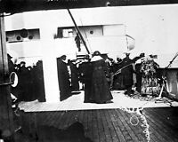 8x10 Photo: Survivors Of Rms Titanic Ship Aboard Ss Carpathia After Rescue