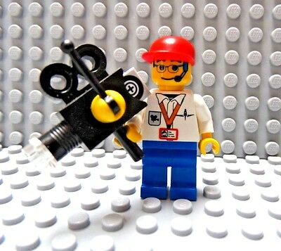 LEGO Local National News TV Cameraman with Camera