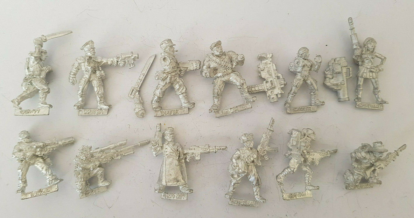 Multi-listing Colonel Schaeffer's Last Chancers metal models Imperial Guard OOP