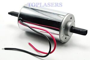 400W-DC-Motor-Chrome-CNC-Air-Cool-Brush-Spindle-12000RPM-12V-48V-52mm-Gearmotor