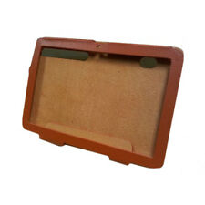 Tablet Motorola Xoom Cuero Folio Funda Naranja Cover Con Stand