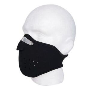 New Motorcycle Motorbike Universal Anti Fog Thermal Ventilated Mask Black Ebay