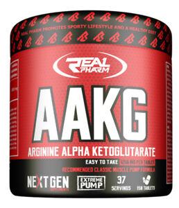 Real-Pharm-AAKG-L-Arginine-1250mg-150-Tabs-Muscle-PUMP-Pre-Workout-Nutrition