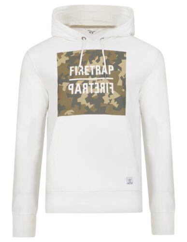 Firetrap New Men/'s Casual Zip /& Overhead Sweat à capuche Tops à capuche