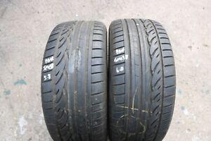 Paire-de-Dunlop-SP-Sport-01-Dsst-RSC-RUNFLAT-pneumatiques-245-35-R19-5-8-amp-6-mm-no-reps