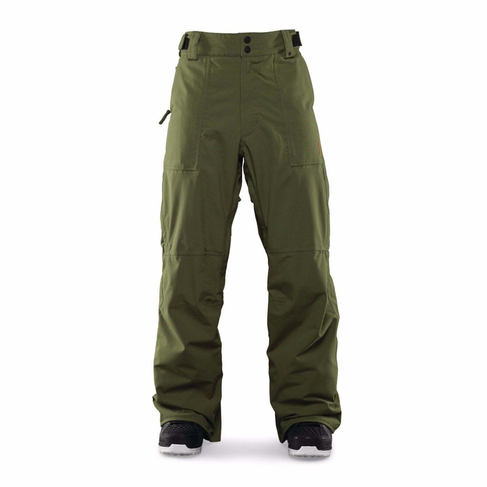 2016 NWT MENS THIRTYTWO ENGLER SNOWBOARDING PANTS  military green