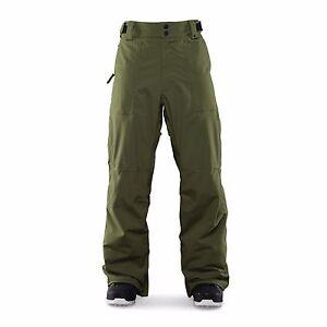 2016-NWT-MENS-THIRTYTWO-ENGLER-SNOWBOARDING-PANTS-Military-Green