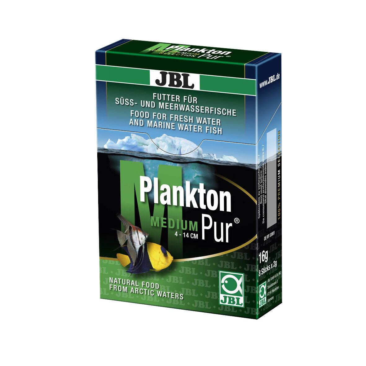 6 Confezioni JBL Plancton-Pur M2, 48 x 2 G Confezione Risparmio, per Grandi