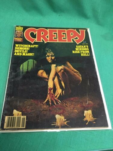 CREEPY #118 June 1980 Warren Magazine Satan's Minions Rise From Hell