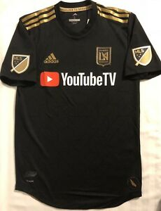 the best attitude 3a3bc 631d4 Details about Adidas LAFC Authentic On The Pitch home Soccer Jersey. Adult  Size: Small