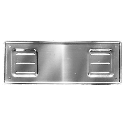 /portatarga 100/% acciaio inox con 8/viti di fissaggio 2/x porta targa/