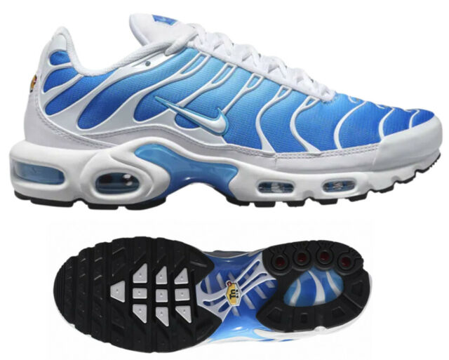 low priced 83b80 76703 New NIKE Air Max Plus TN Men's Sneakers blue white black all sizes