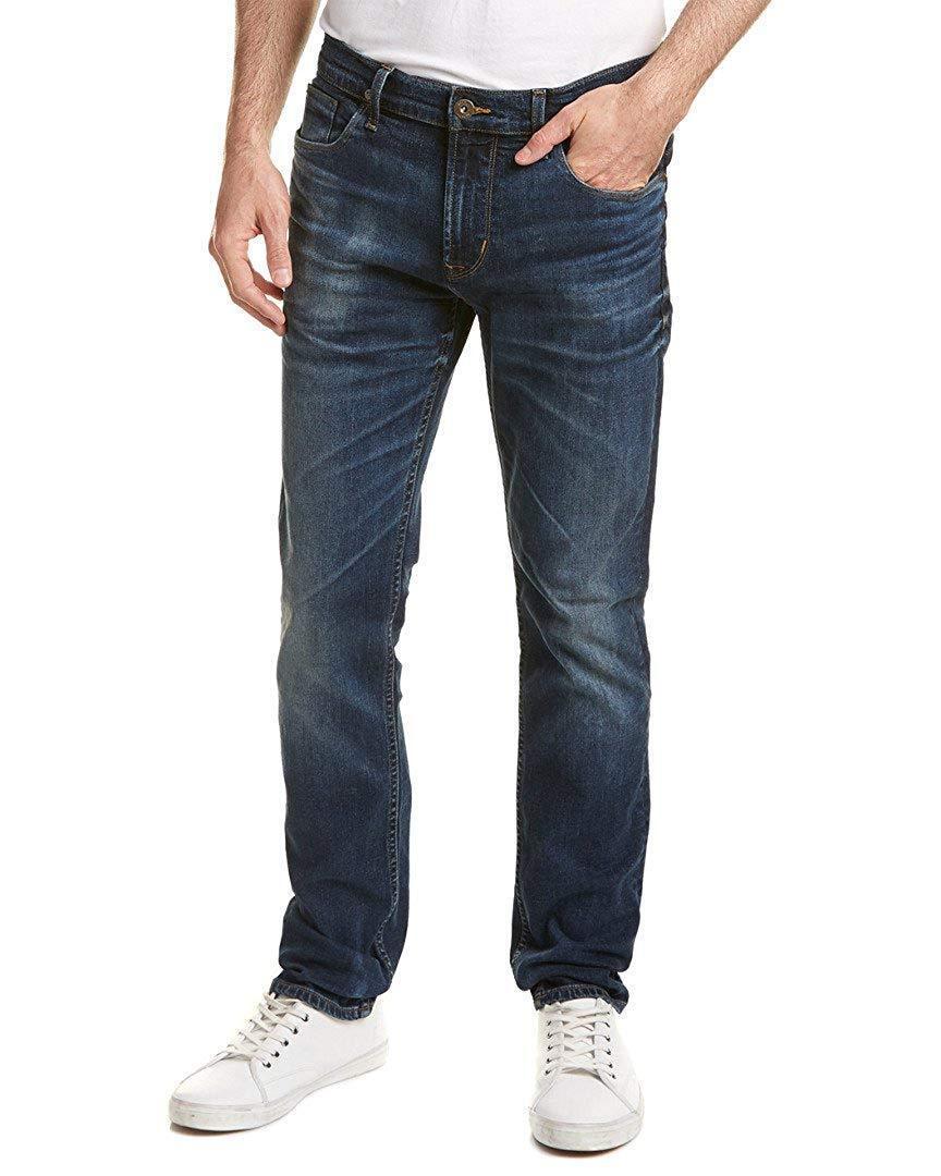 Hudson Sartor Slouchy Men's Skinny Leg Jeans in Naples  NEW 36x34