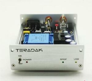 TeraDak-V2-7D-DAC-TDA1543-nuevo-viejo-stock-DAC-26D-96k-24bit-Coaxial-entrada-optica-USB-DAC