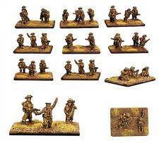 Forjado En Batalla Infantería Británica Platoon 1944 X 40 Figuras 15mm 1/100 paso